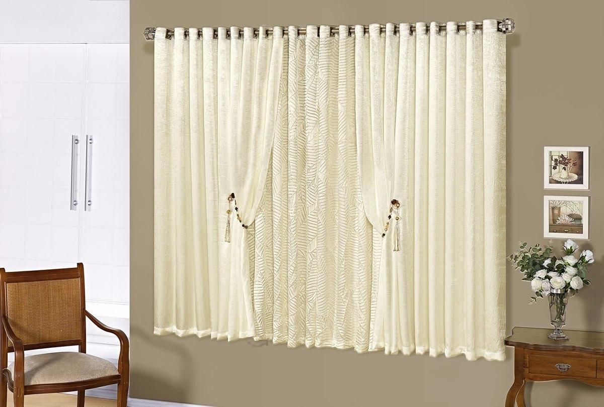 Cortina para quarto sala pequena bella 2 00m x 1 70m 15105 for Cortinas para cortinas