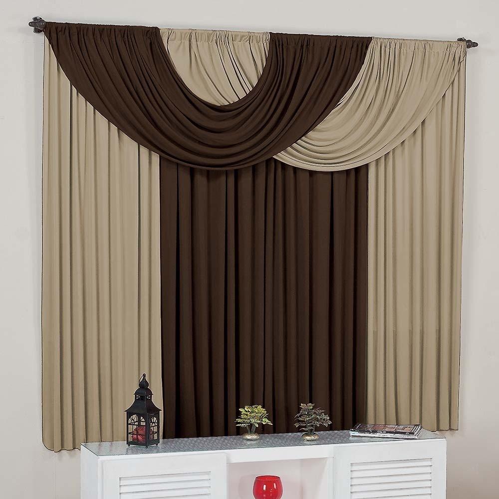 Cortina para sala suellen avel tabaco 3mx2 8m var o for Buscar cortinas para salas