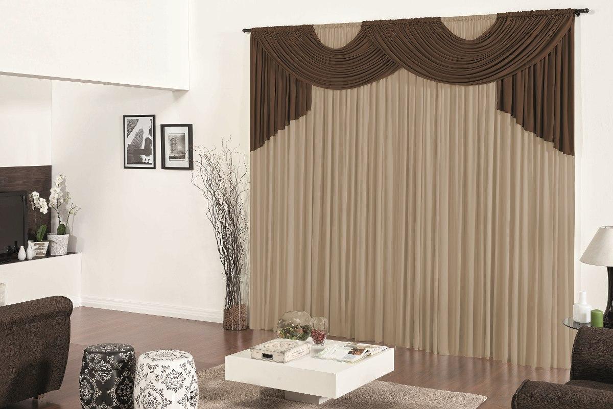 Cortina para sala tabaco avel 3m x 2 80m p var o simples - Buscar cortinas para salas ...