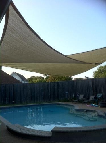 cortina para sol en exterior jardin contra rayos uv vbf