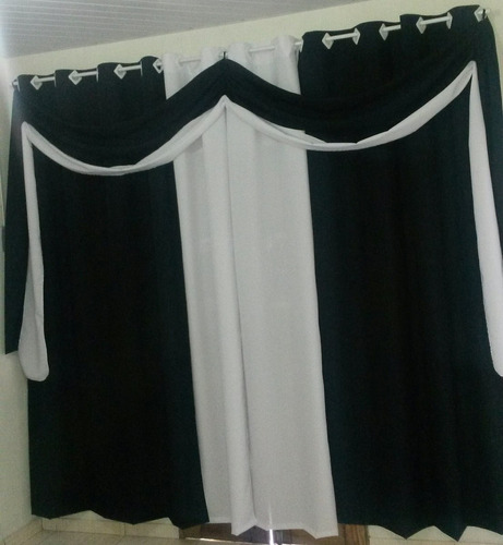 cortina para varão bella 2,50 x 4,50