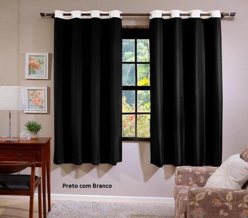cortina para varão tamanho 3,00 x 1,70 varias cores