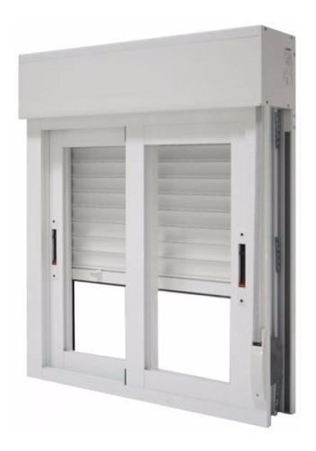 cortina para ventana monoblock en pvc