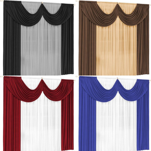 cortina paris 2 00 x 1 70 para sala ou quarto