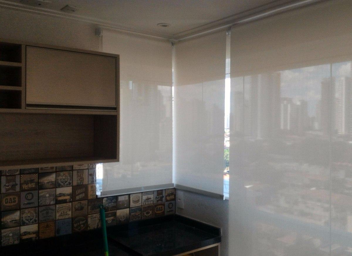 cortina persiana rol screen tela solar branca offwhite