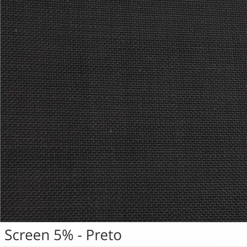 cortina persiana rolo screen tela solar 5% - sob medida