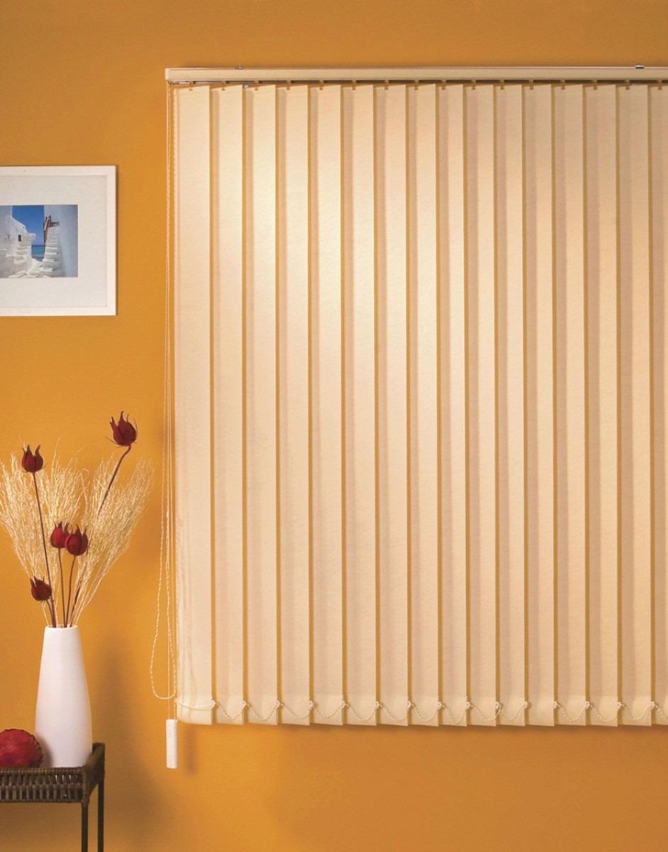 Cortina persiana vertical tecido promo o r 60 00 em for Cortinas de persiana