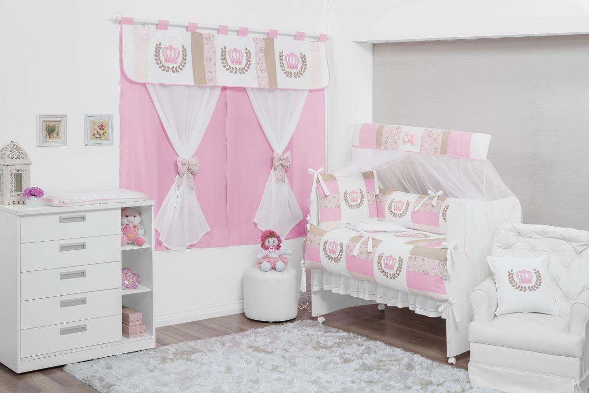 Cortina Princesa Enfeitar Quarto De Beb Menina 2mx1 70m R 134  ~ Quarto Simples E Pequeno De Menina