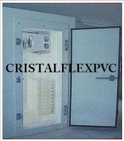cortina pvc camara fria caminhão refrigerado 0,80 x 1,80
