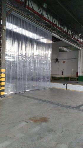 cortina pvc p/ mercados camaras e caminhões frigorificos etc