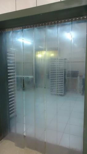 cortina pvc p/câmaras fria e caminhão refrigerados