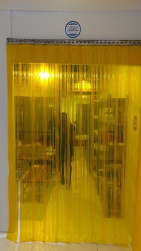 cortina pvc tiras metros linear