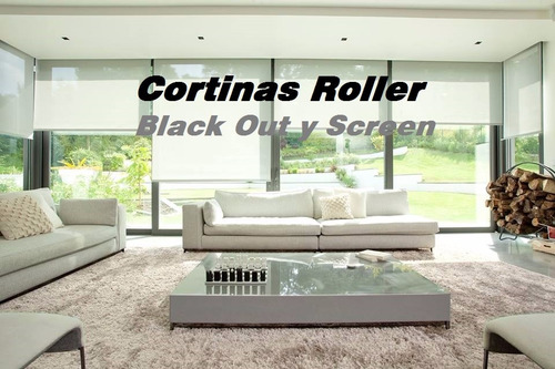 cortina roller - black out