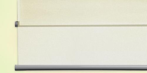 cortina roller día y noche latte 140 x 210 cms - woow!