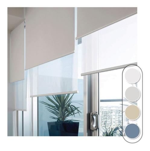 cortina roller doble, screen + blackout, fabrica c/ garantía