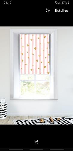 cortina roller estampada 1.20 x 1.80