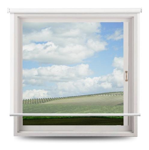 cortina roller para cocina de tela tipo screen 10% a medida