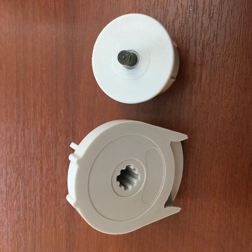 cortina roller - repuesto de 28 y 38 mm.