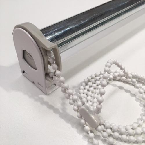 cortina roller - solo eje 1.5 mt. cadena y grampas. repuesto