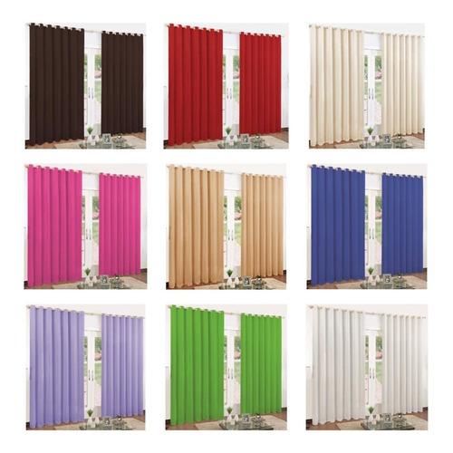 cortina roma 3 00 x 2 50 metros para sala ou quarto