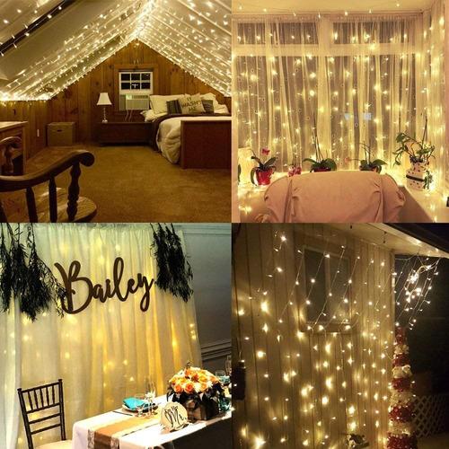 cortina, serie led 3x3m decoracion de eventos, bodas