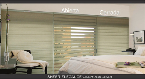 cortina sheer, roller duo, enrrollables.