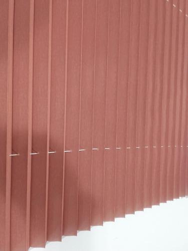 cortina sunscreen acordion bordo 0,71 ancho x 0,70 alto