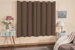 cortina varão para sala / quarto 2,00m x 1,80m semi blackout