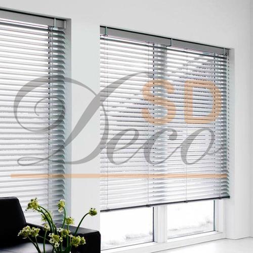 cortina veneciana microferforada sd deco en belgrano