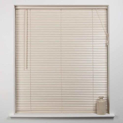 cortina veneciana persiana americana en pvc de 60x165cm
