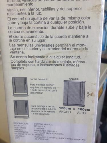 cortina vinilica americana