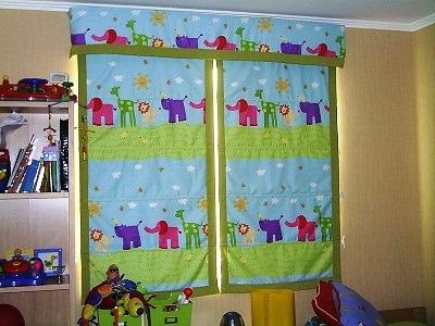 cortinajes telas lisas y velo. store tela, velo o blackout.