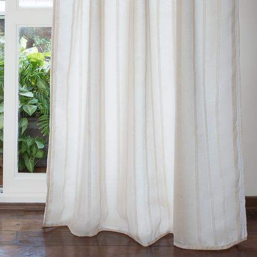 cortinas arco iris capadocia doble tela presillas 140 x 210