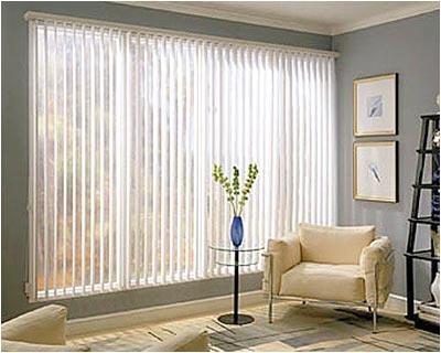 cortinas bandas verticales