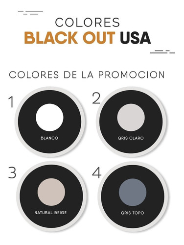 cortinas black out roller - blackout 6 cuotas sin interés!