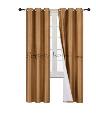 cortinas blackout 188ancho x213 largo en 2 paneles ahuladas