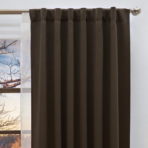 cortinas blackout cocoa