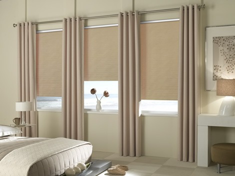 cortinas blackout enrollable roller sunset -25% su