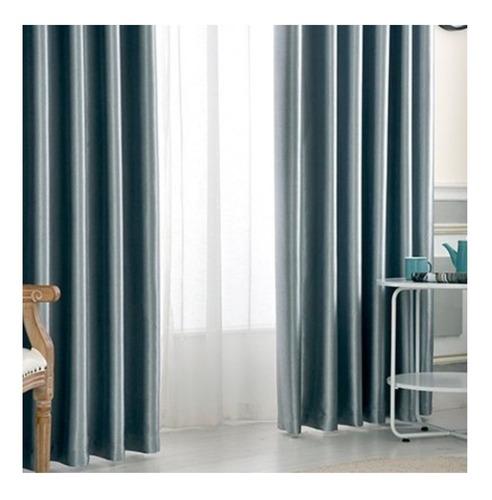 cortinas blackout estilo pana terminación raso barral riel