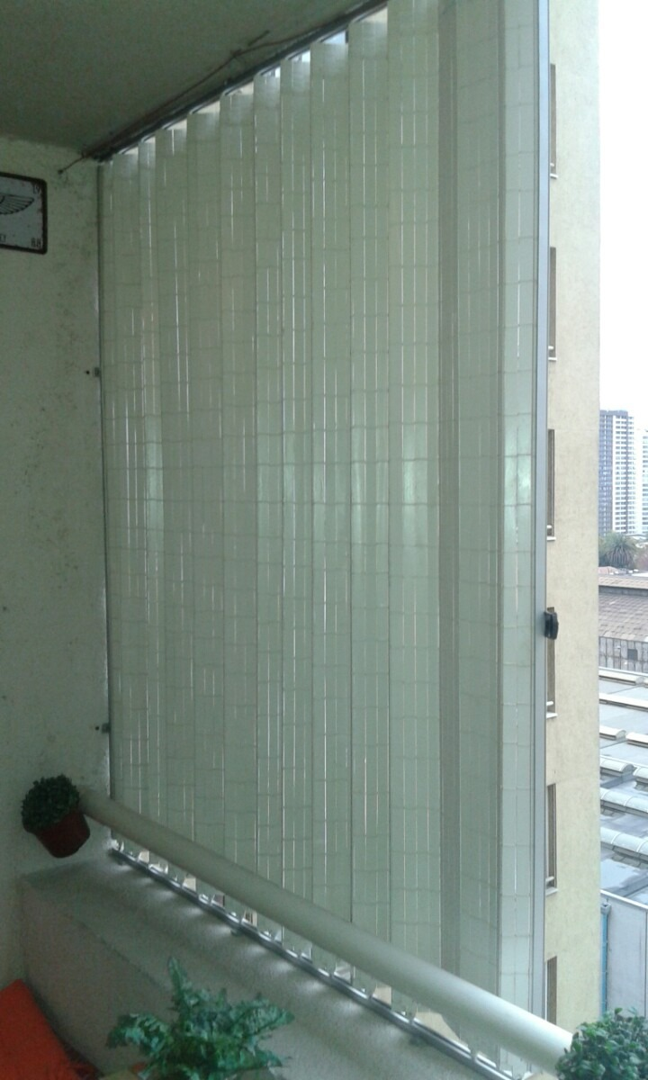 cortinas blancas para terrazas