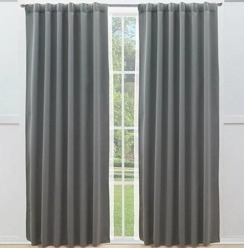 cortinas catania blackout largas gris bloquean luz vianney