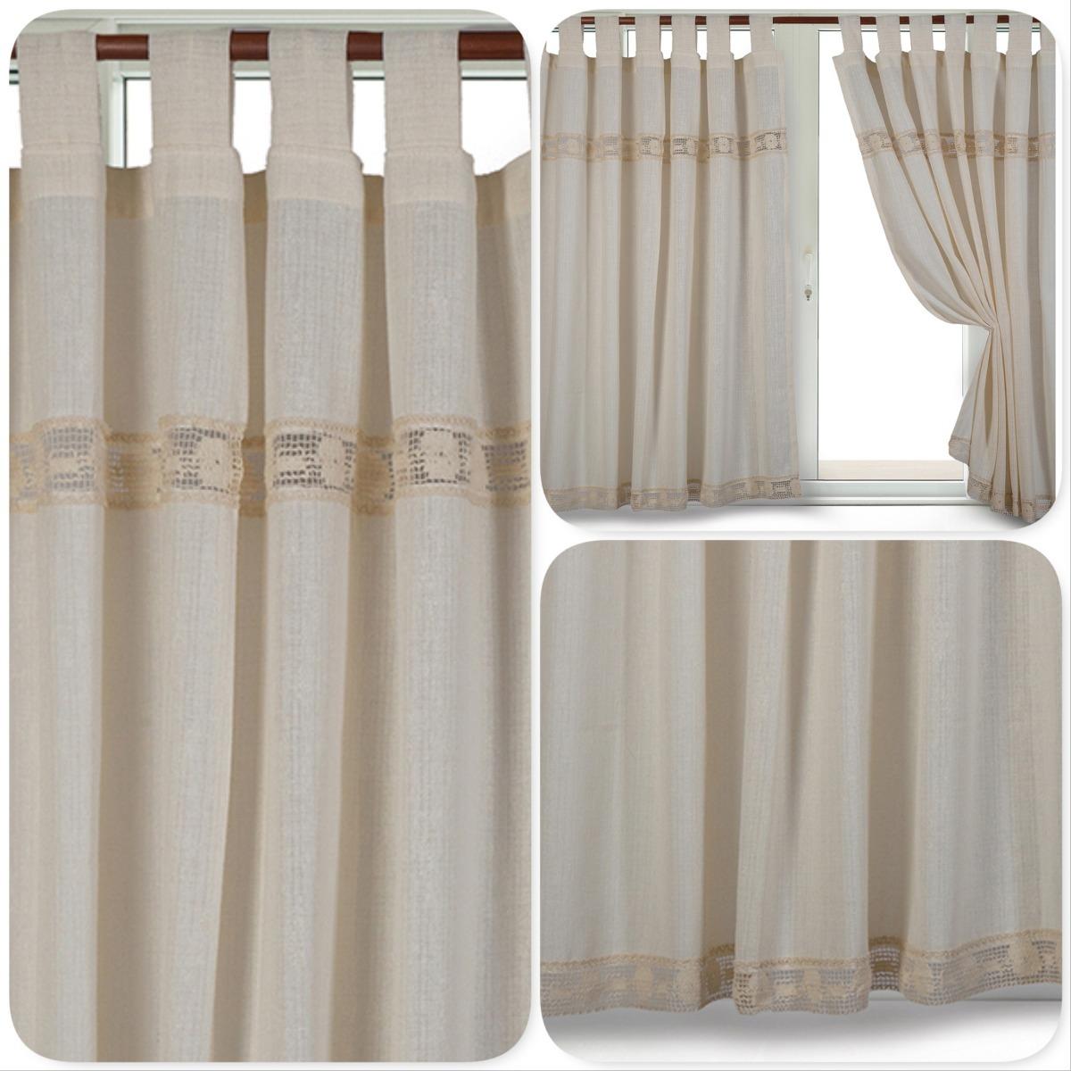 Modelos de cortinas de tela rusticas iratu for Cortinas para cocina rustica