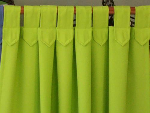 cortinas c/presillas tela tropical mecanico el mejor precio!