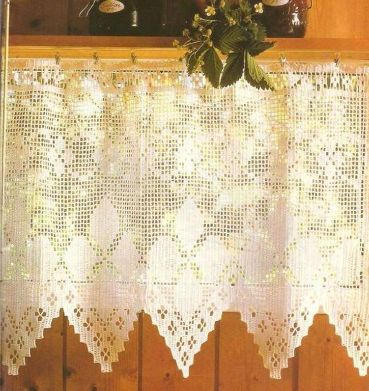 Cortinas Crochet, Manteles, Carpetas, Almohadones, Puntillas ...