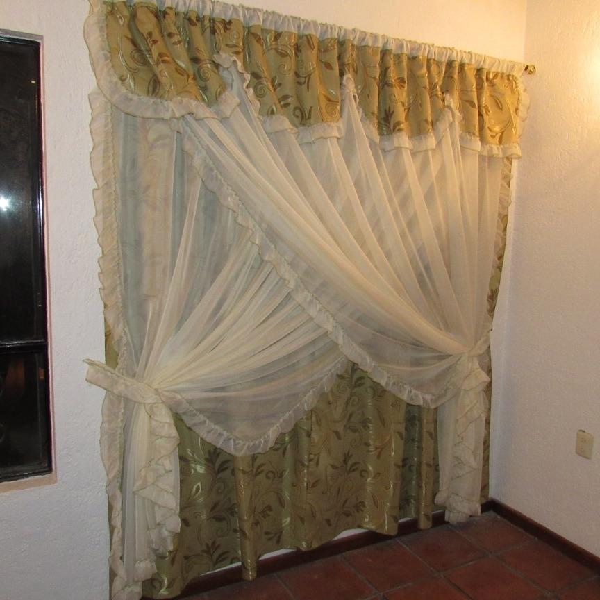 Stunning Cortinas Sala Comedor Gallery - Casa & Diseño Ideas ...