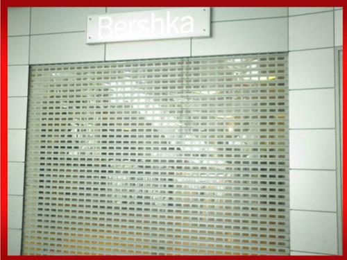 cortinas de acero enrollables metálicas.