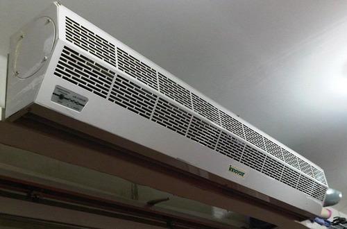 cortinas de aire elimina insectos y polvo