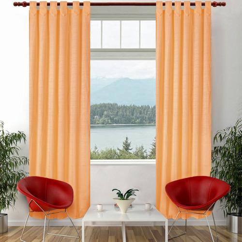 cortinas de ambiente madras 140 x 210 varios colores -eh