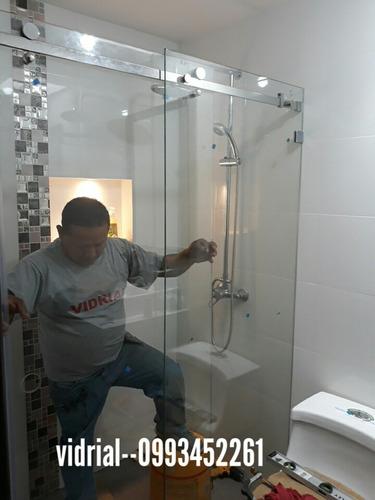 cortinas de baño en vidrio templado   (vidrial)