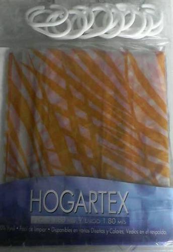 cortinas de baño hogartex vinilo cocina hogar varios colores
